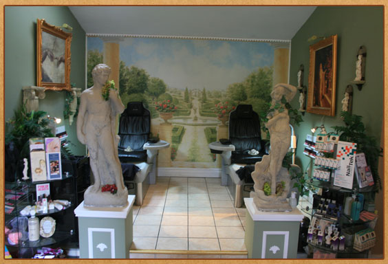 Spa On The River Pedicure Area