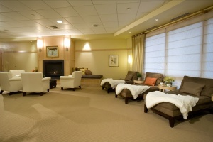 Topnotch womens spa lounge