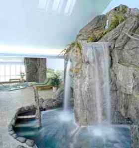 The Spa at Stoweflake - Aqua Solarium  (Photo courtesy of Stoweflake Mountain Resort)